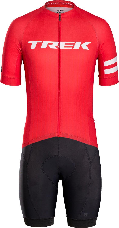 Bontrager CIRCUIT LTD cycling set (short sleeve jersey + bibshort) red.  Previous 97990a602