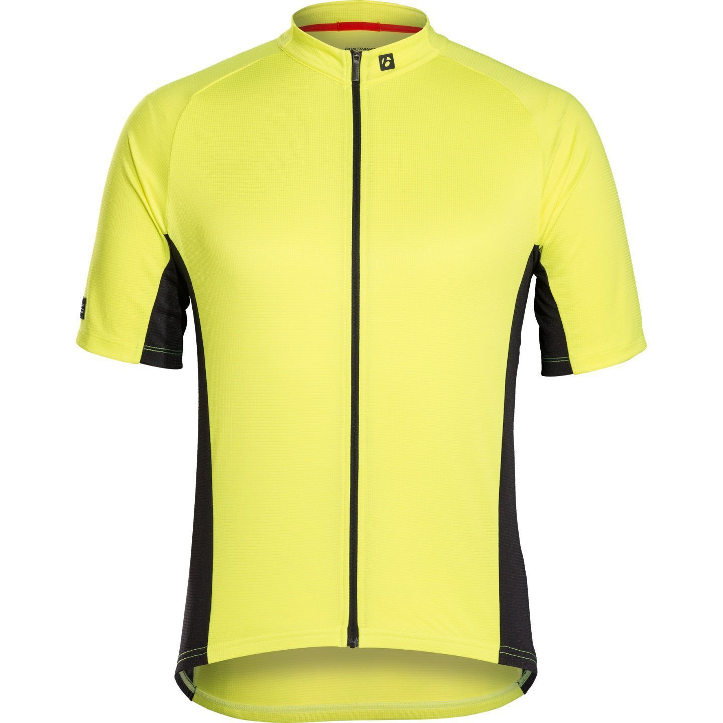 27f1e4aea Bontrager SOLSTICE short sleeve cycling jersey fluo yellow. Previous