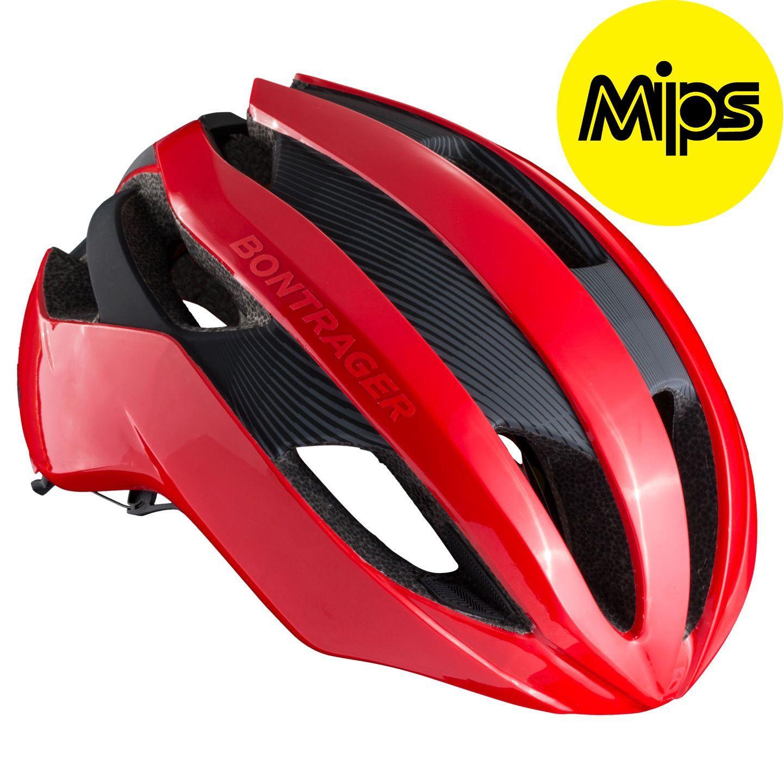 TREK - SEGAFREDO 2019 VELOCIS MIPS cycling helmet red - Bontrager  professional cycling team. Previous edcd71b5d