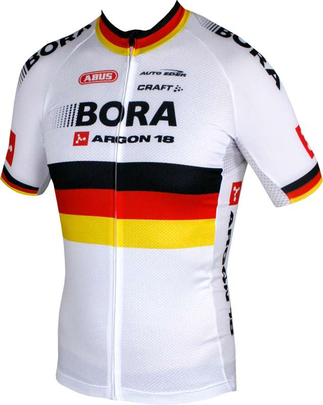 CRAFT BORA-ARGON-18 german champ 2015-2016 original short sleeve jersey  (long zip) - professional cycling team de26d22d3
