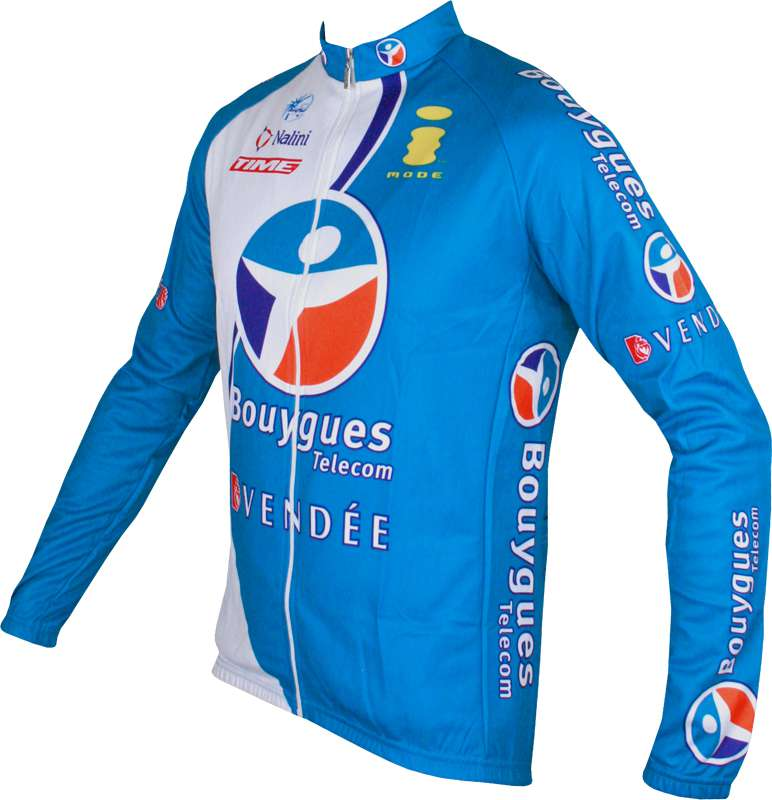 b1790e250 NALINI Bouygues Télécom 2006 cycling-tricot (jersey long sleeve) - professional  cycling team