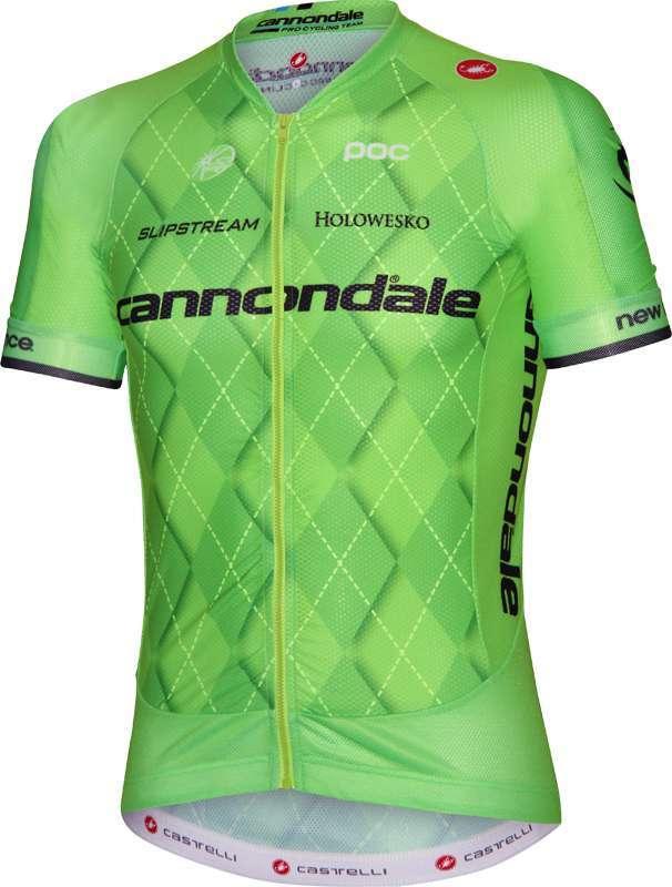 Cannondale-Pro Cycling 2016 AERO RACE 5.1 short sleeve jersey (long zip) -.  Previous aa91e949b