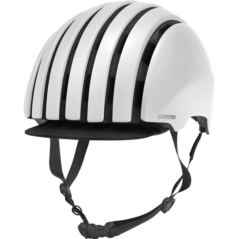 cycling helmet FOLDABLE CRIT white matte