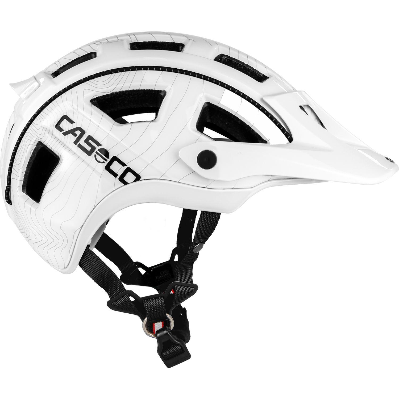 Casco MTB.E Fahrradhelm weiß - Größe L (58-62 cm)