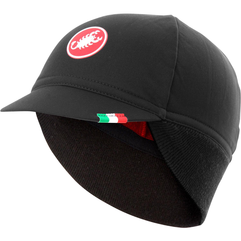 43a0e9c2f74 Castelli DIFESA THERMAL cycling cap black. Lined. 27%