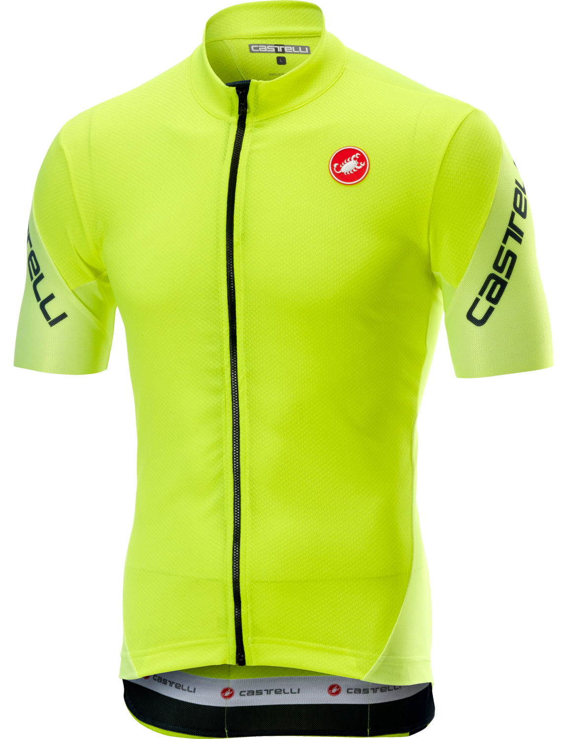 Castelli ENTRATA 3 short sleeve cycling jersey yellow fluo. Previous d07349301