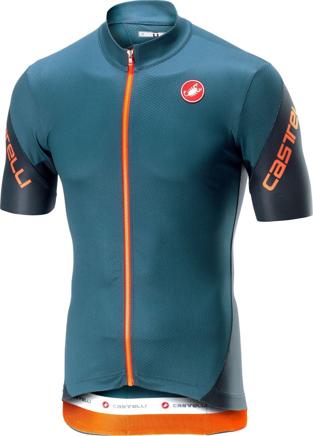 9af626f97 Castelli ENTRATA 3 short sleeve cycling jersey light steel blue. Previous