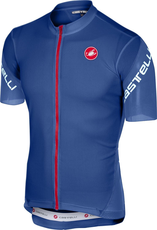 bd899e4e0 Castelli ENTRATA 3 short sleeve cycling jersey darkblue. Previous