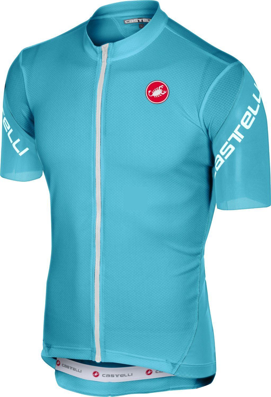 462a49097 Castelli ENTRATA 3 short sleeve cycling jersey sky blue. Previous