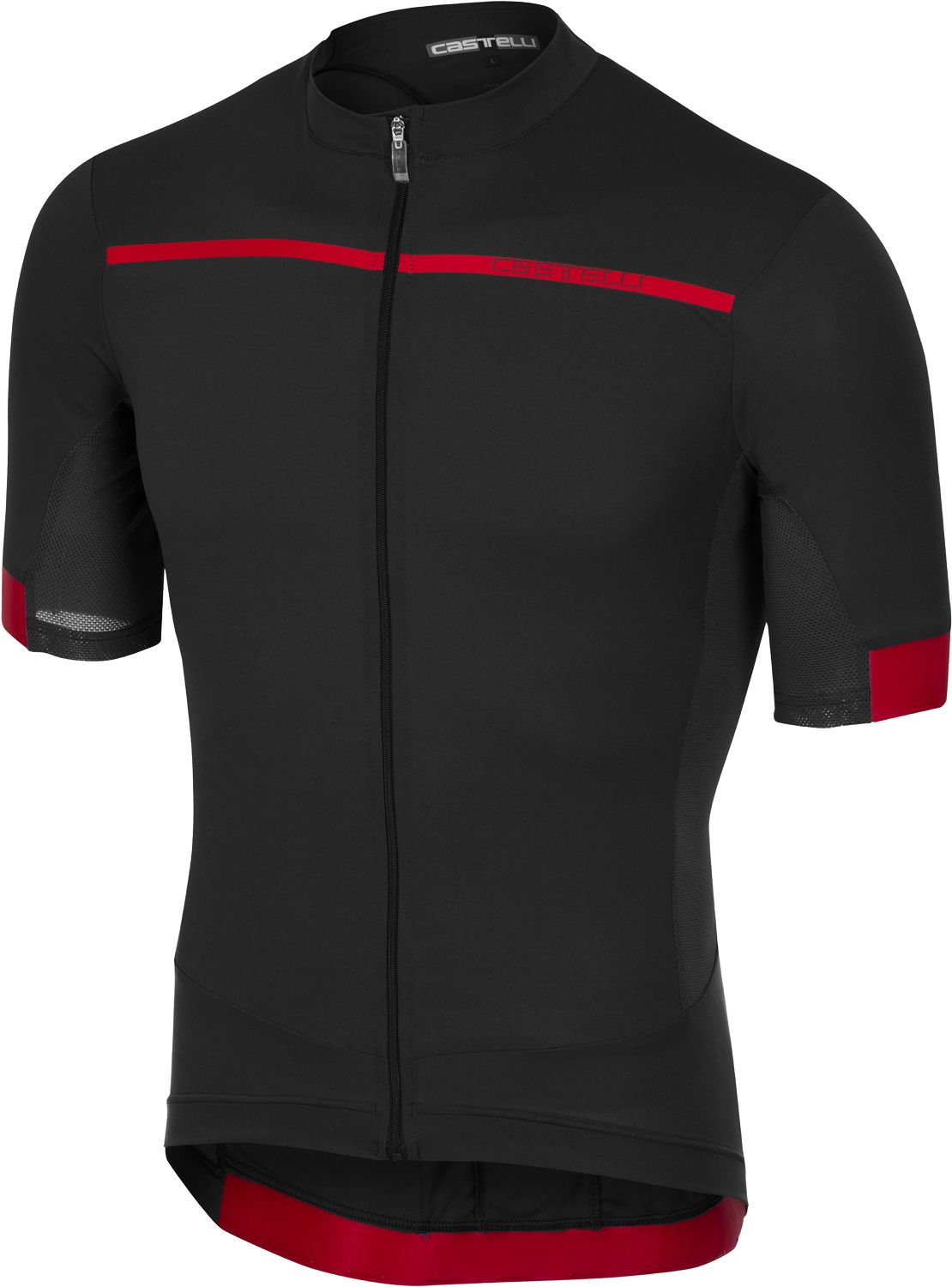 Castelli FORZA PRO - short sleeve cycling jersey anthracite. Previous 8e8f62859