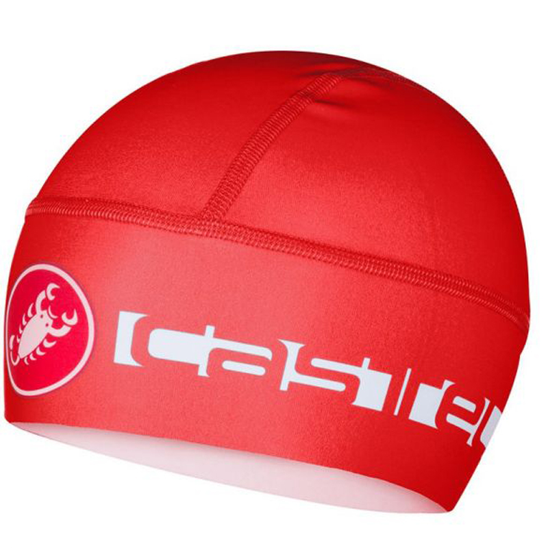 fdbc448f91a Castelli Viva Thermo Skully cycling helmet liner red. Thermo. 28%