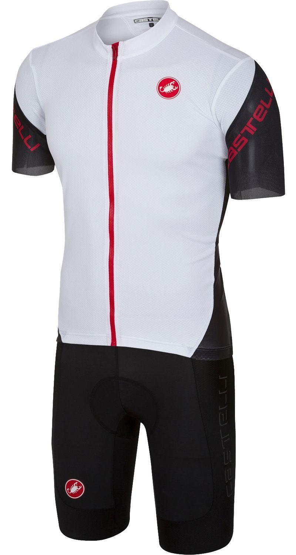 Castelli ENTRATA 3 + EVOLUZIONE 2 cycling set (short sleeve jersey long zip  + bib. Previous 218e88b92
