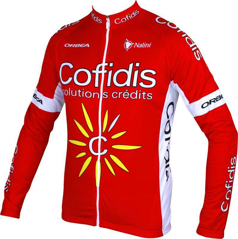 COFIDIS 2016 long sleeve jersey - Nalini professional cycling team. Previous 6855745a8