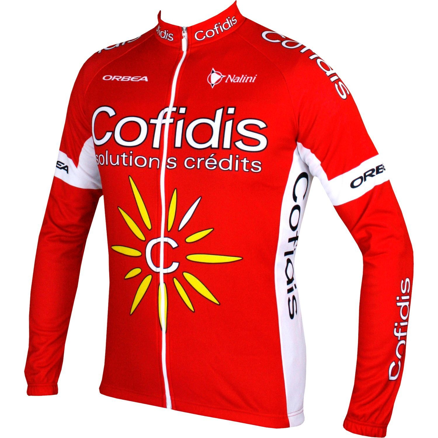 NALINI COFIDIS 2017 long sleeve cycling jersey - professional cycling team 3fd966b52