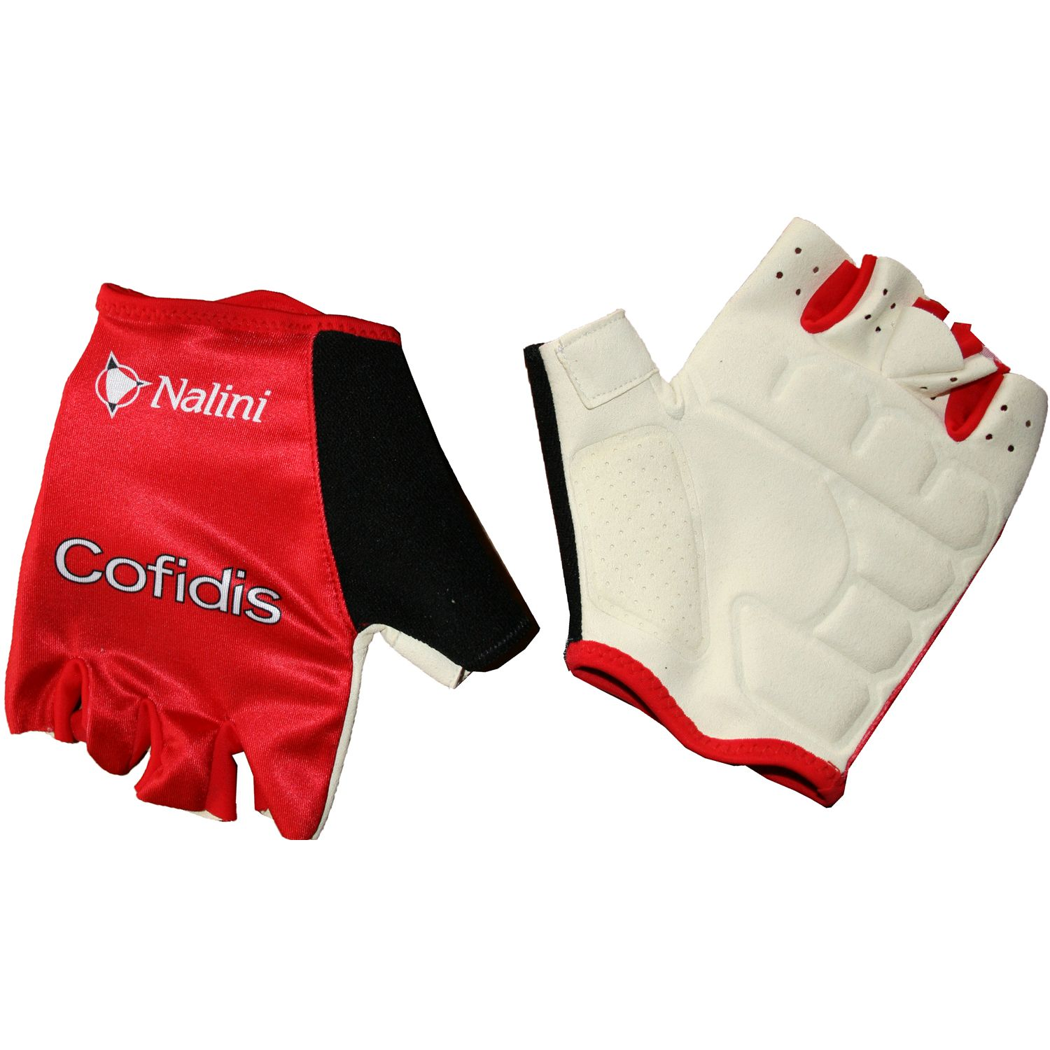NALINI COFIDIS 2018 short finger gloves - professional cycling team 7d1eab906