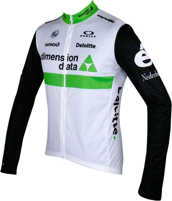 0b24128db MOA DIMENSION DATA 2016 long sleeve jersey (long zip) - professional cycling  team