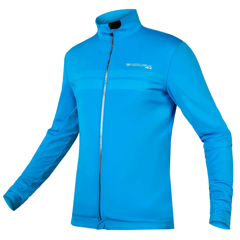 ca3b4850b ENDURA PRO SL thermo winter cycling jacket (windproof) blue (E9122BV)