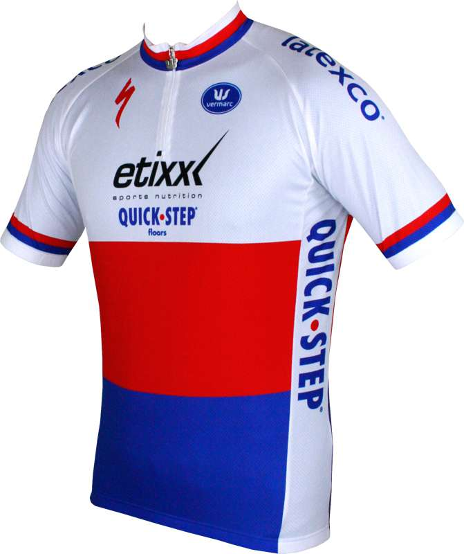 Previous. ETIXX-QUICKSTEP czech champ 2015 short sleeve jersey (short zip)  - Vermarc professional feefff770
