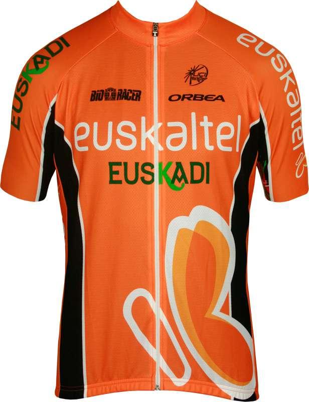 dbfd0d1ab Previous. EUSKALTEL EUSKADI 2013 BioRacer professional cycling team - cycling  jersey with long zip