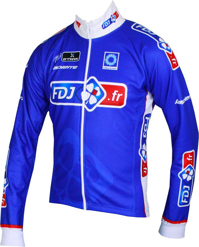 BTWIN FRANCAISE DES JEUX (FDJ.fr) 2014 winter jacket - professional cycling  team 077c0ce47