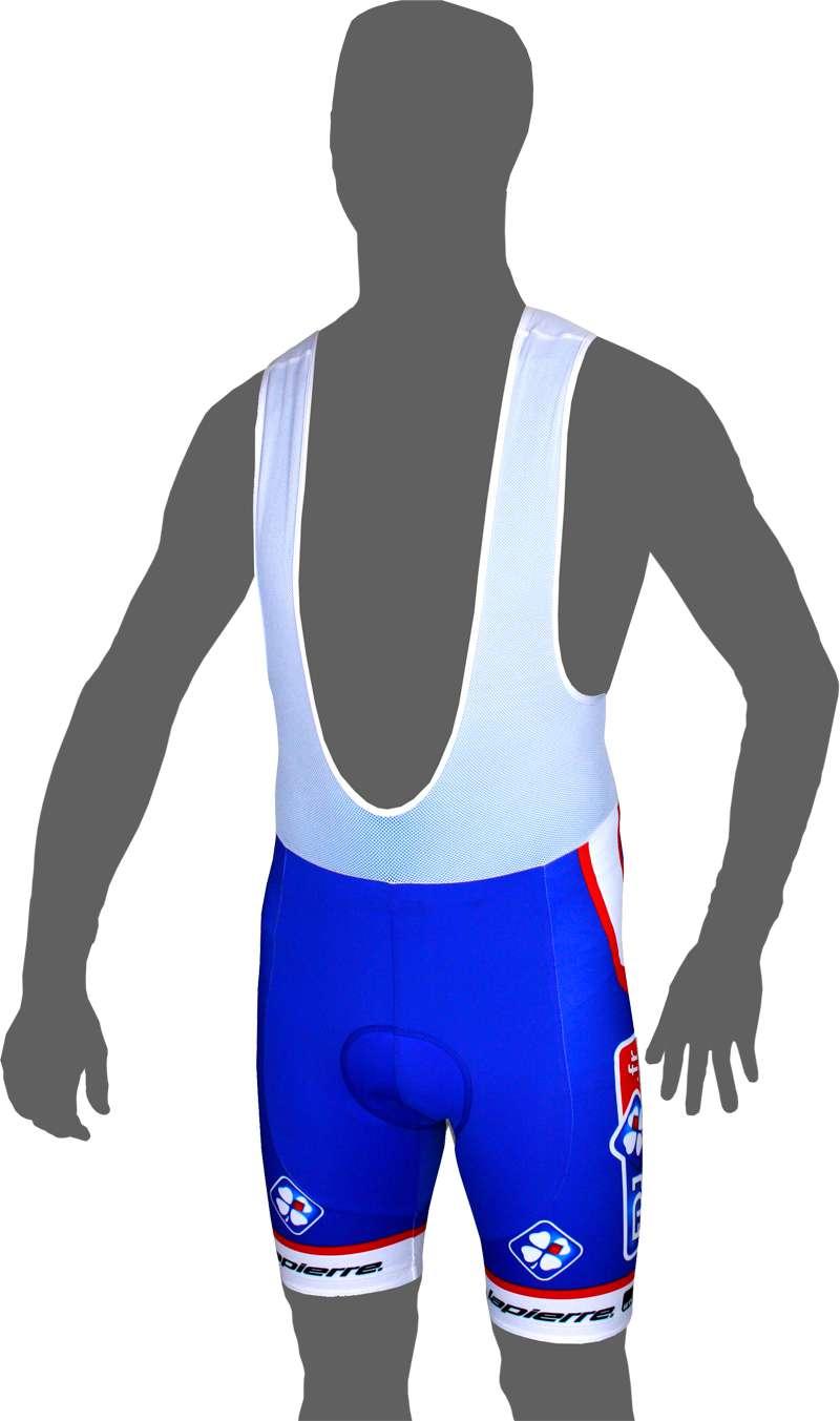 FRANCAISE DES JEUX (FDJ.fr) 2014 strap trousers - professional cycling team.  Previous b16c03f6d