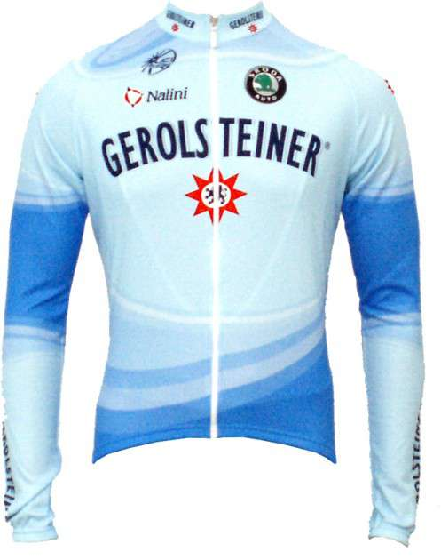 21f9ae34f NALINI Gerolsteiner 2007 professional team - cycling long sleeved jersey