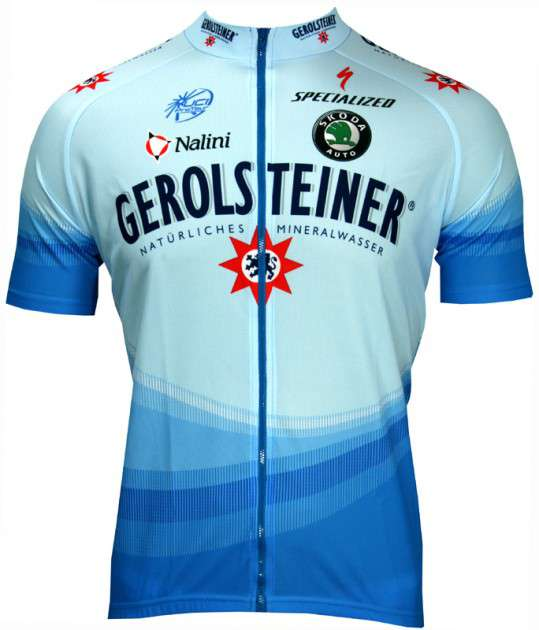 2da783f09 NALINI Gerolsteiner 2006 professional cycling team - cycling jersey with long  zip