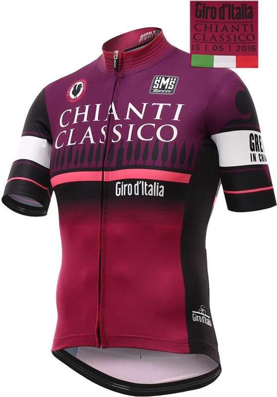 666fc47b9 SANTINI Giro d Italia 2016 - Chianti Classico - stage jersey - short sleeve  jersey