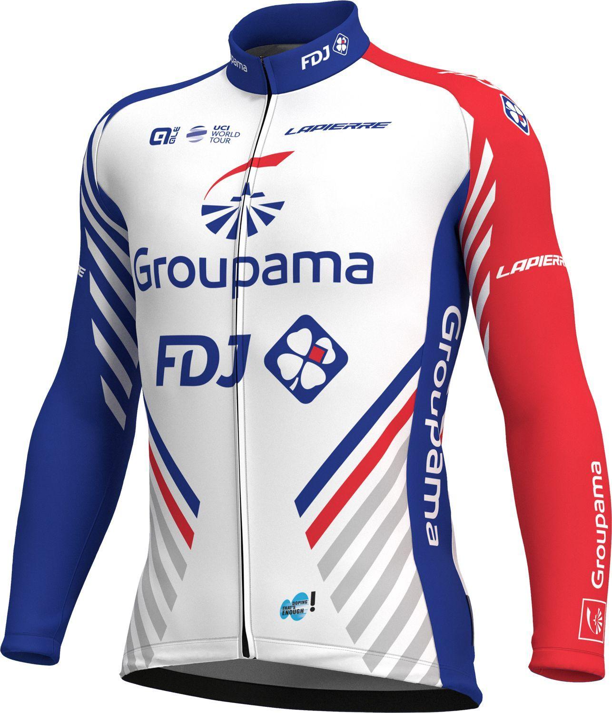 ALÉ GROUPAMA-FDJ 2018 long sleeve cycling jersey - ALE professional cycling  team 71b925f98