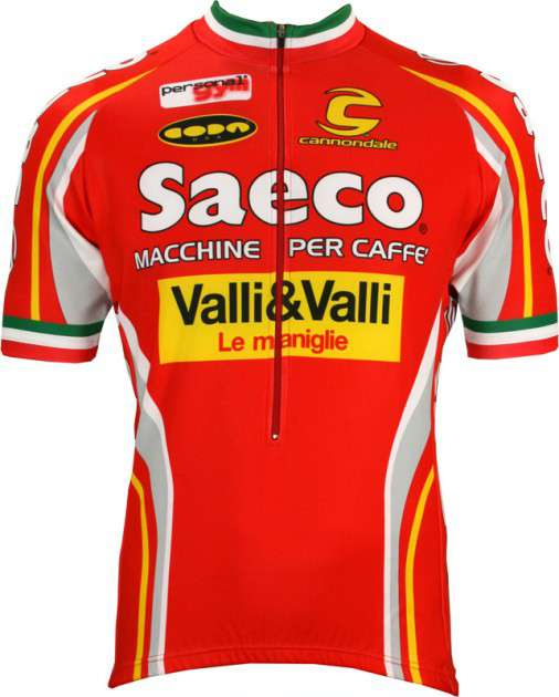 0a99b96de Saeco Nalini professional cycling team - cycling jersey. Previous