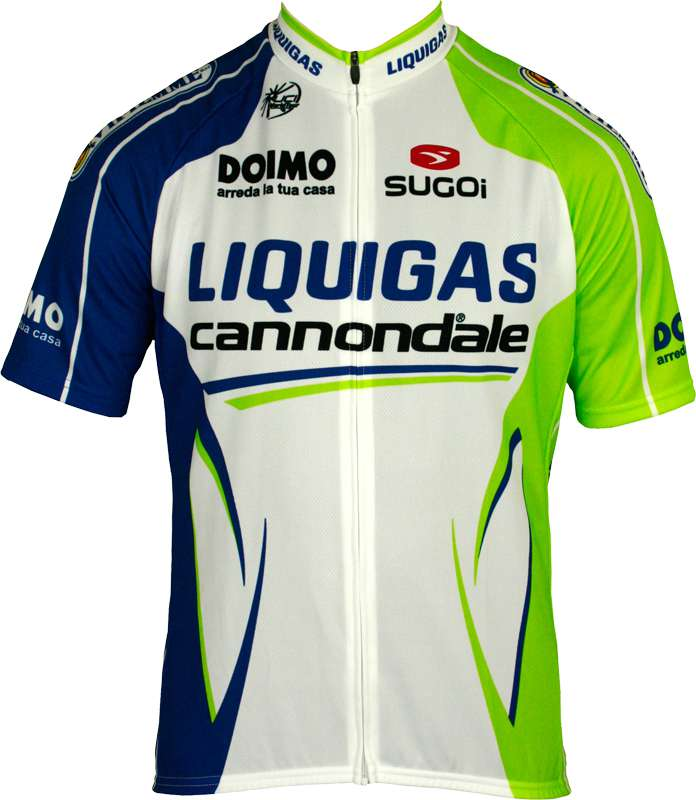 c4a778952 LIQUIGAS CANNONDALE 2012 Sugoi professional cycling team - cycling jersey  with long zip. Previous