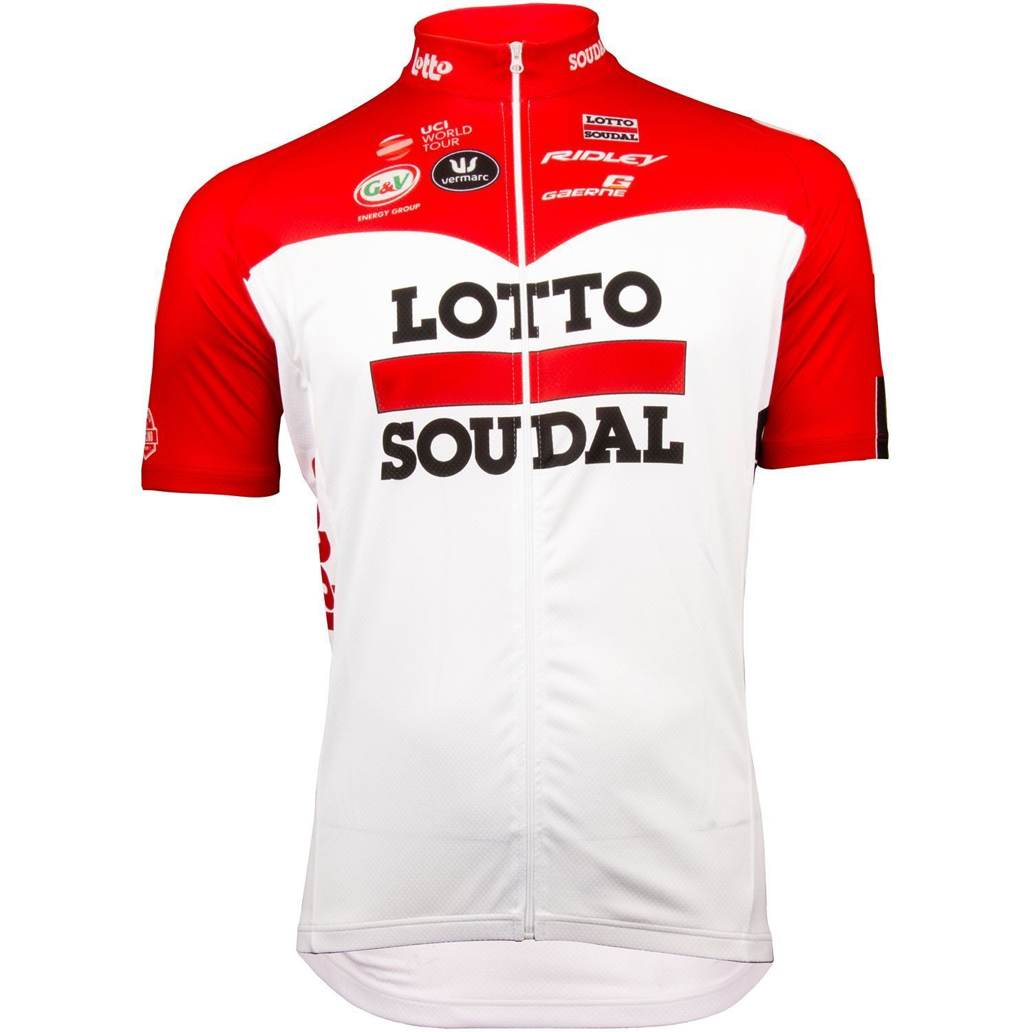 d7755fab6 ... short sleeve cycling jersey (long zip) - Vermarc professional cycling  team. Previous