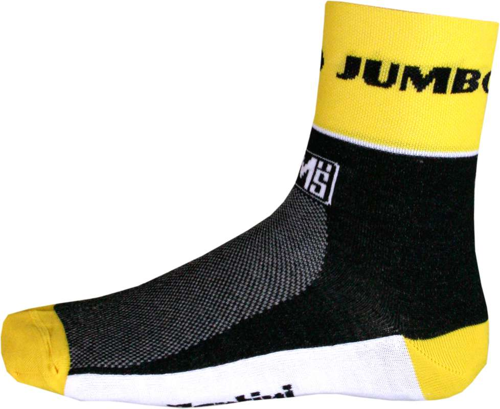 179067bec TEAM LOTTO NL - JUMBO 2015 Coolmax socks - Santini professional cycling team.  Previous
