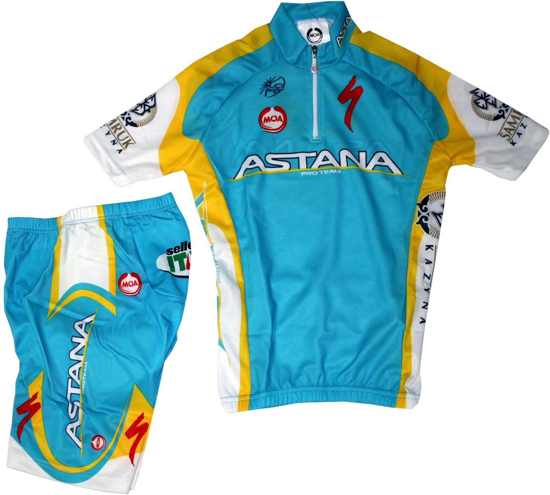NALINI Astana 2011 cycling set for kids (jersey 8cc1d250d
