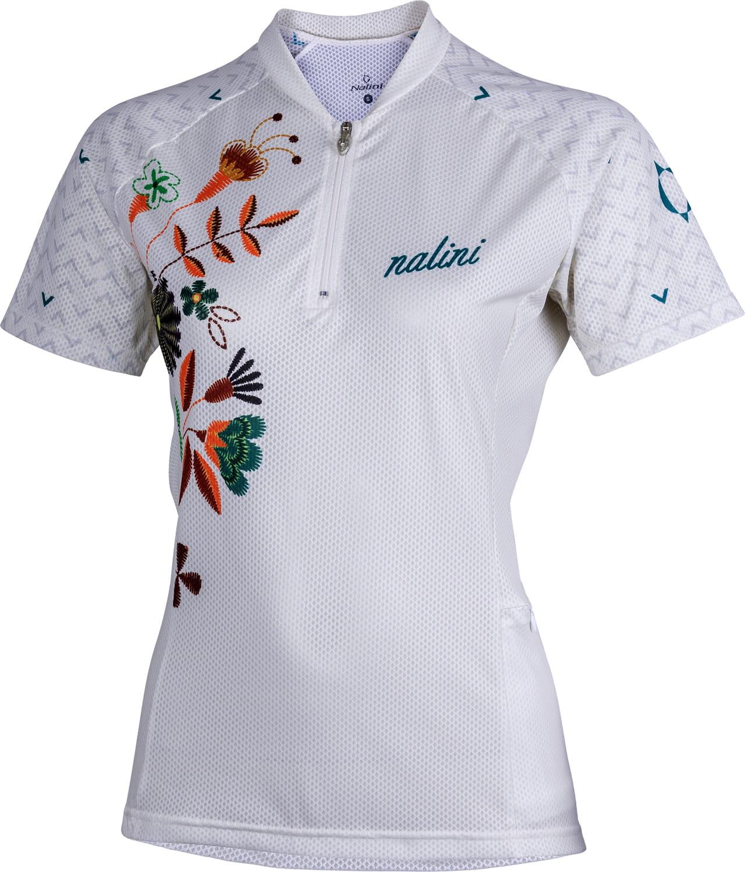 ad453e5de NALINI ROCKY 2.0 MTB womens short sleeve cycling jersey white (E19-4001)