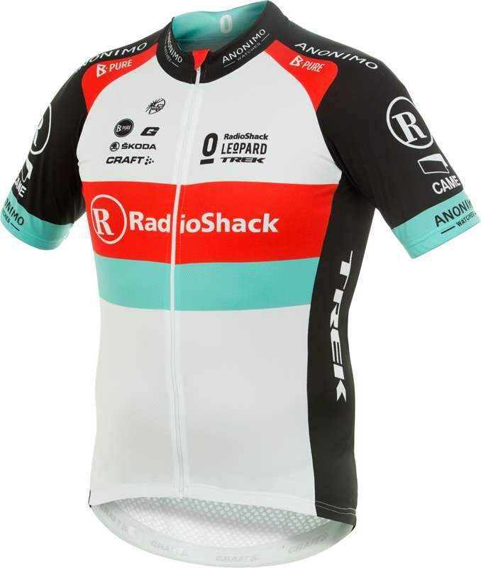 CRAFT RADIOSHACK LEOPARD TREK 2013 professional cycling team - short sleeve  jersey with long zip ca4ed2473