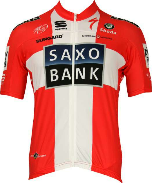 2398bec2f Saxo Bank 2010 - Danish Champion Sportful professional cycling team -  tricot (jersey short sleeve. Previous