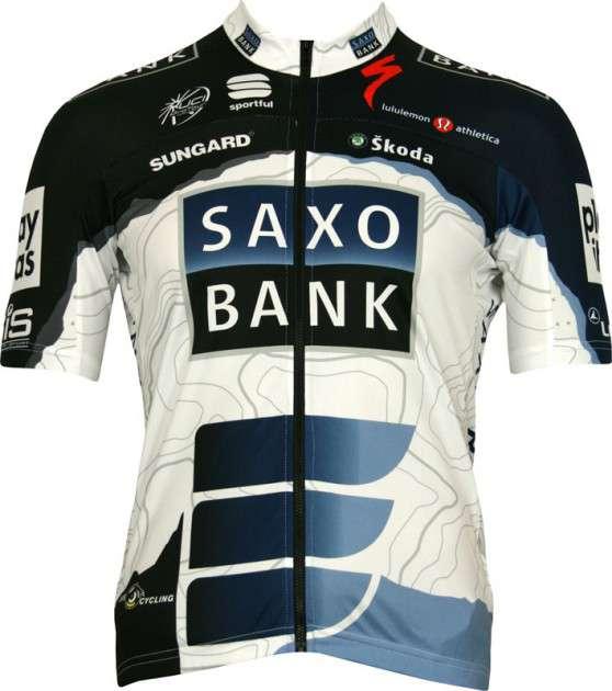 c60e7e5fd Saxo Bank 2010 Sportful professional cycling team - tricot (jersey short  sleeve). Previous