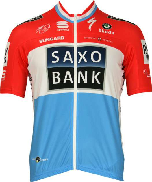 5237d94a0 Saxo Bank 2010 - Luxembourgian Champion Sportful professional cycling team  - tricot (jersey short sleeve. Previous