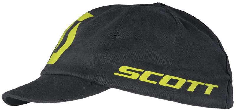 Gorra de ciclismo CLASSIC (negro amarillo) de Scott aca5b29e6ffc