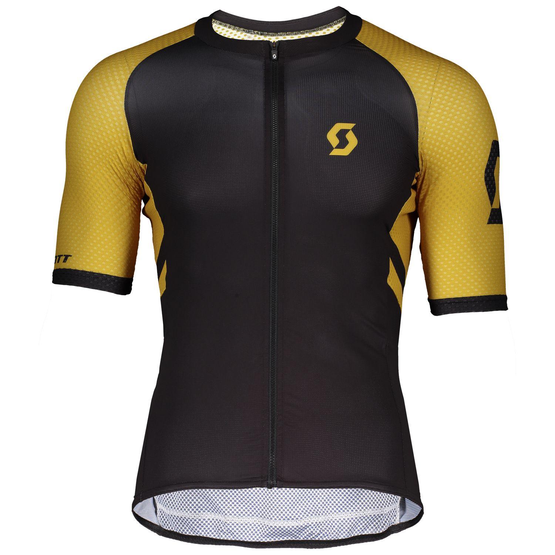 Scott RC Premium CLIMBER short sleeve cycling jersey black ochre yellow  (270443). Previous e2605dc57