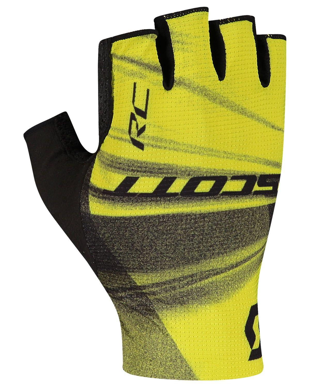 Scott RC Team Fahrrad Handschuhe kurz schwarz//rot 2020