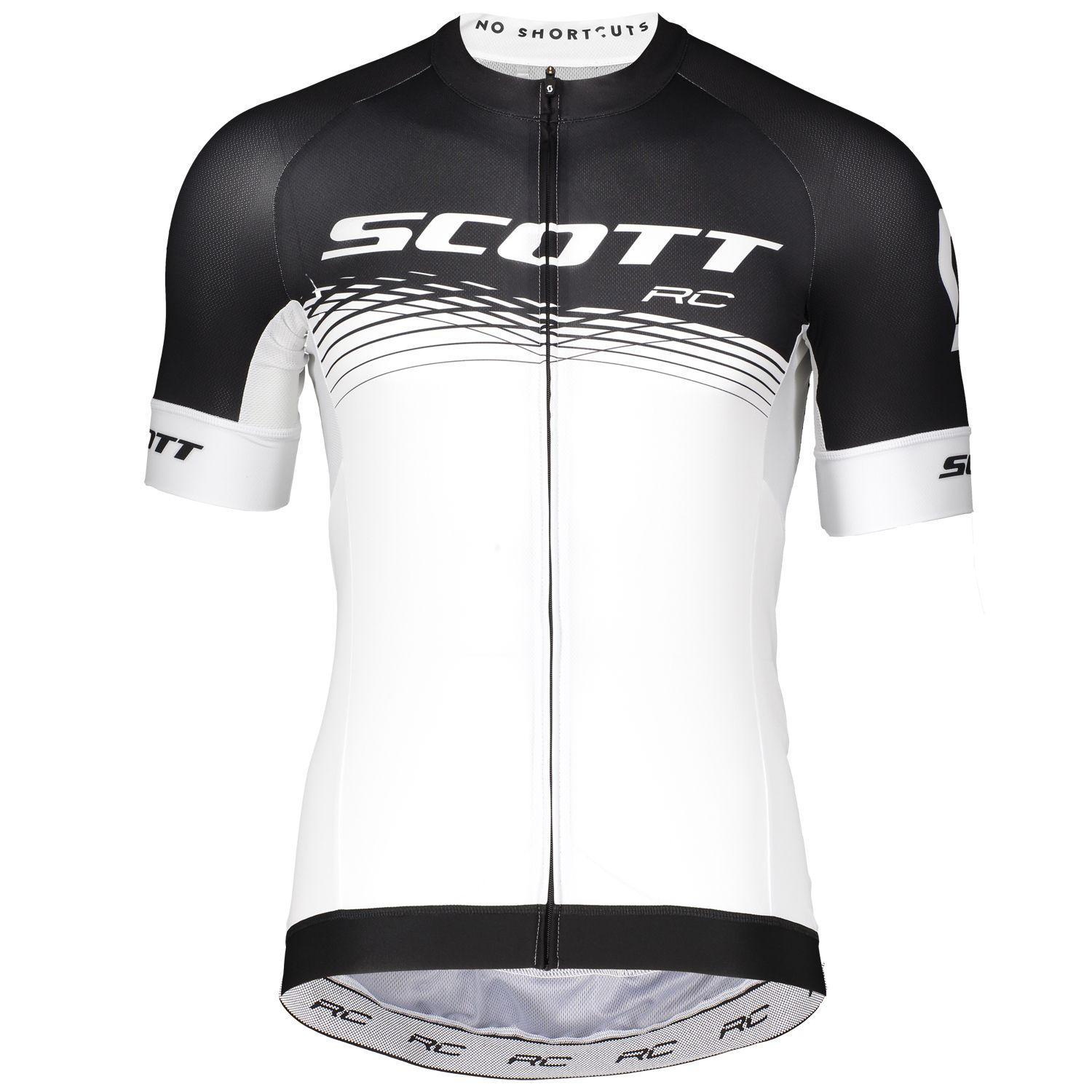 5213a9124 ... cycling jersey black white (270447). Previous