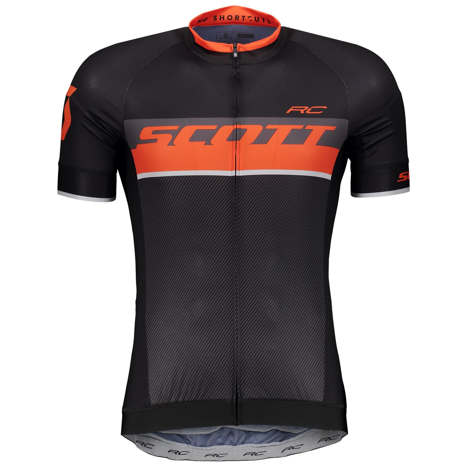 2b976cd04 ... short sleeve cycling jersey black tangerine orange (264821). Previous