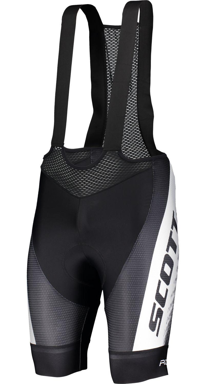 bicicleta pantalones corto negro//blanco 2018 Scott RC Pro +