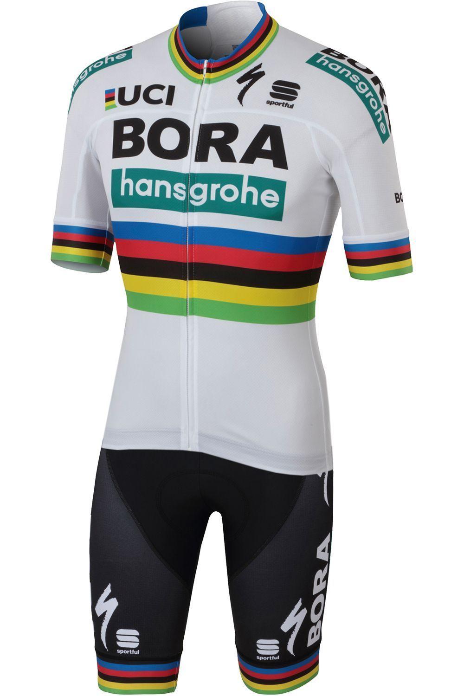 9ef53b5a2 BORA-hansgrohe Road World Champion 2018 set (jersey + bib shorts) - Sportful.  Previous