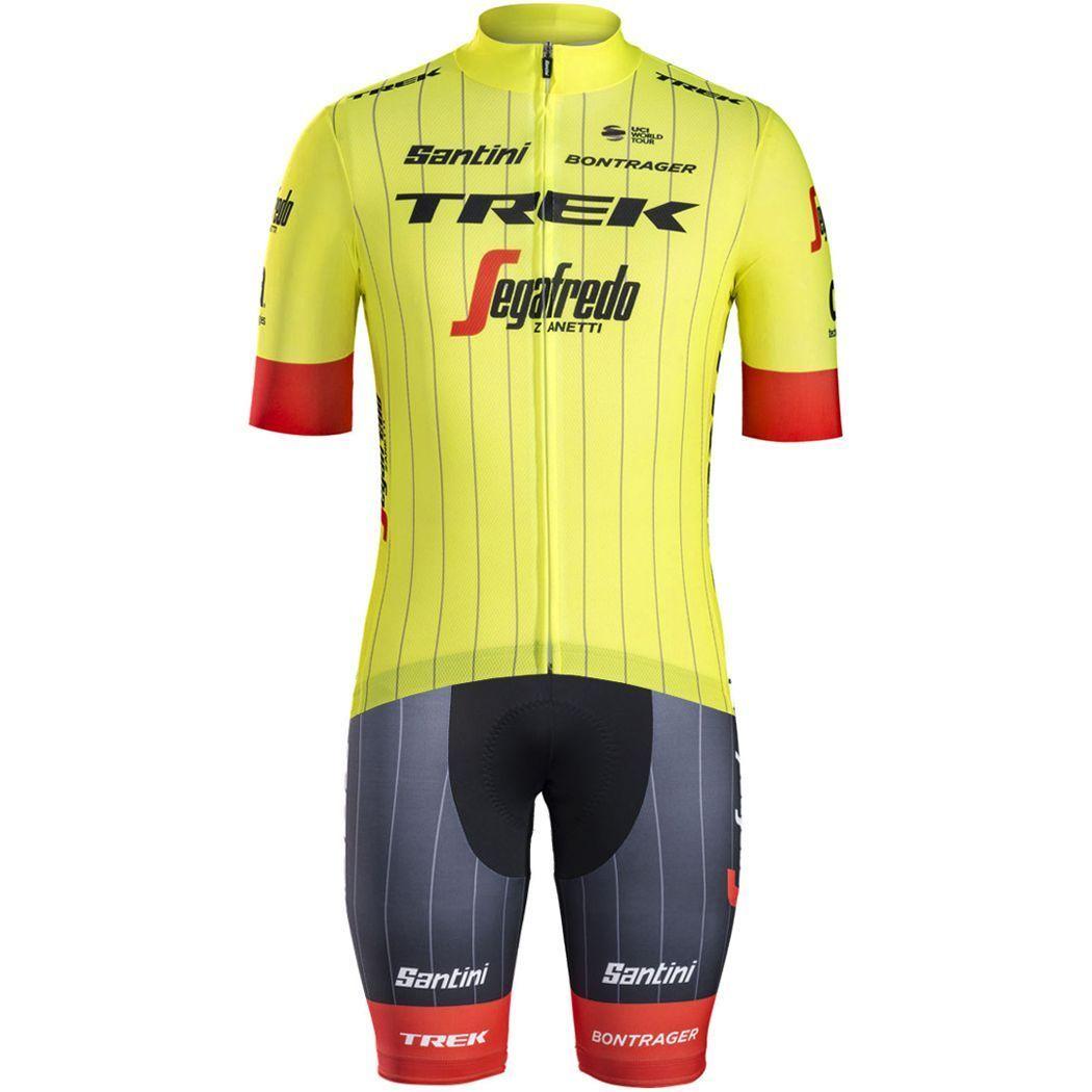 Previous. TREK - SEGAFREDO 2018 training edition set (jersey + strap  trousers) - Santini professional 25deb859b