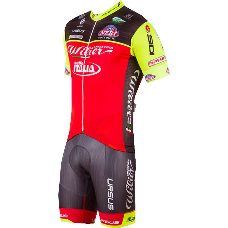 WILIER TRIESTINA - SELLE ITALIA 2017 set (jersey long zip + strap trousers)  -. Previous 36106fd20