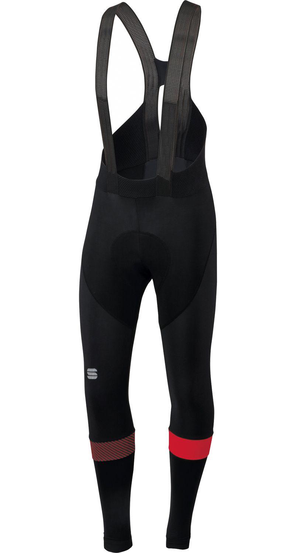 Sportful Giro 2 Men/'s Winter Cycling Bib Tight Black Red White Size L