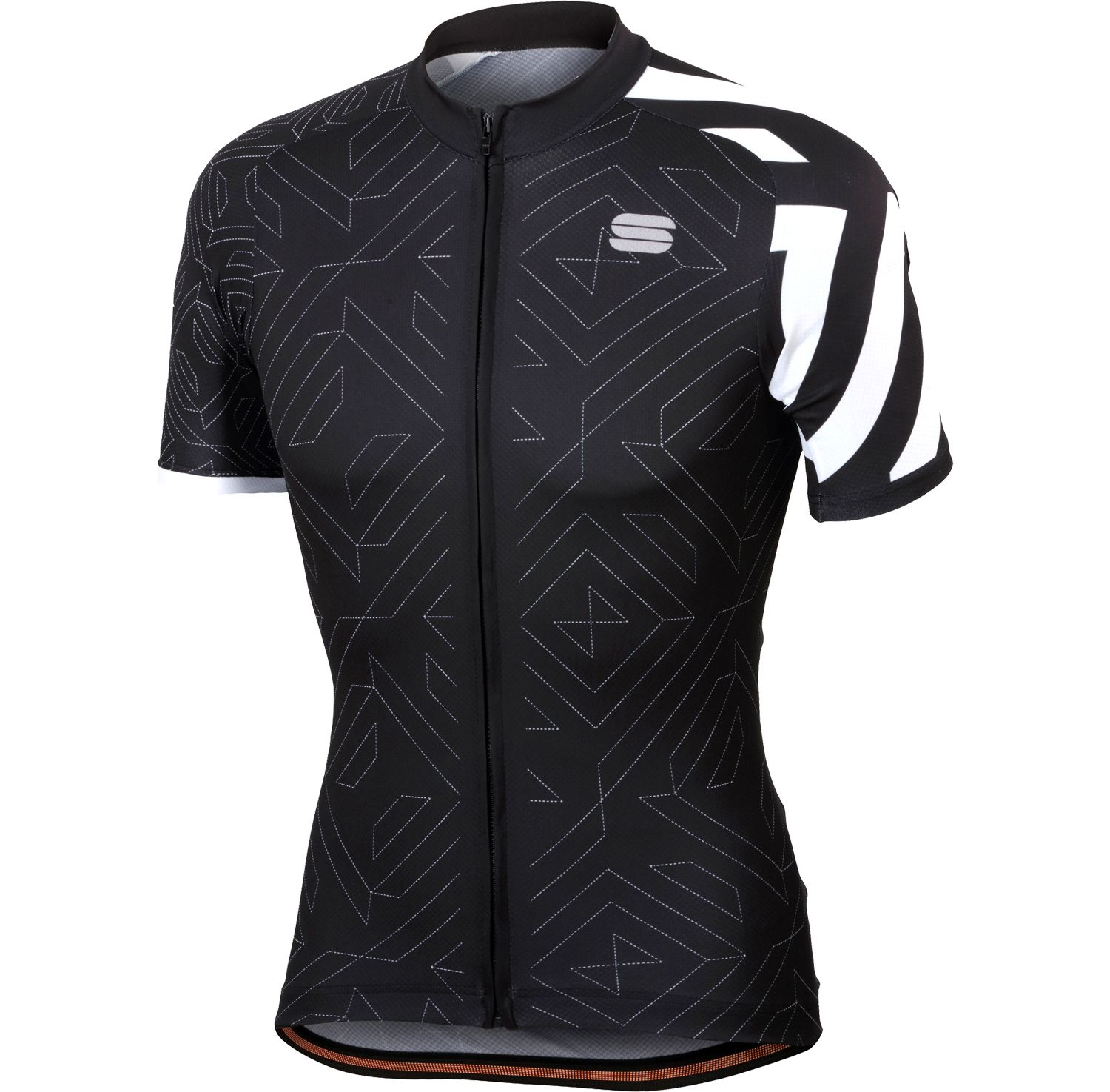 Sportful PRISM short sleeve cycling jersey black. Previous 51083b35b